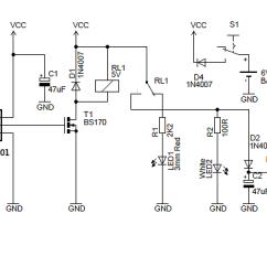 Pir Wiring Diagram Lighting Nest Smoke Alarm Night Security Light With Hacked Sensor