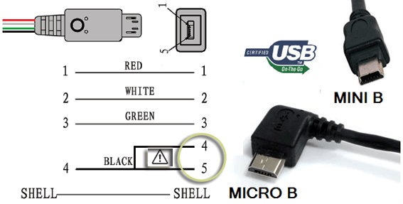 For Micro Usb Wire Color Diagram Mini Selfie Light Circuit