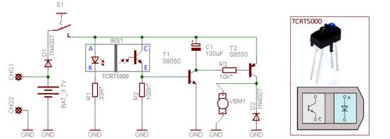 Lightignoring Infrared Active Motion Detector Ir Emitter Circuit