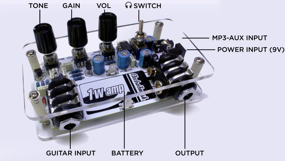 medium resolution of 1wamp functions electrosmash 1wamp electroc guitar amplifier 1wamp functions wiring guitar input barrel jack wiring diagram