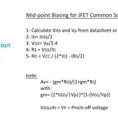 jfet amplifier calculation parameters [ 4537 x 2253 Pixel ]