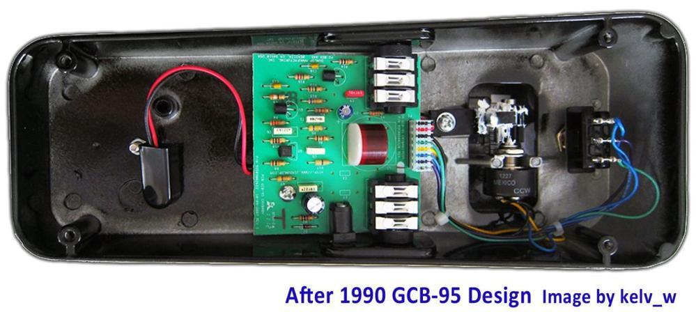 medium resolution of cry baby wah gcb 95 guts after1990
