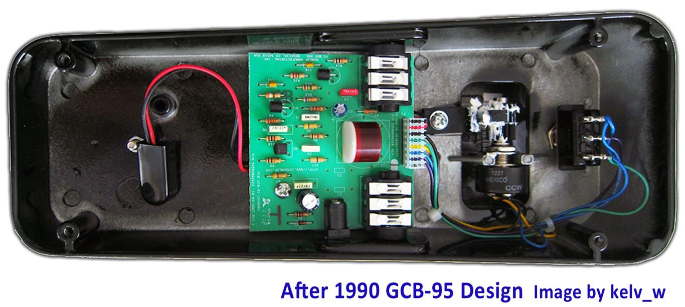 hight resolution of cry baby wah gcb 95 guts after1990