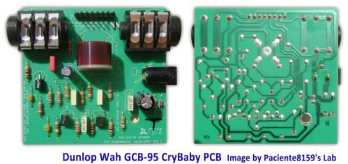 small resolution of the dunlop cry baby gcb 95 circuit