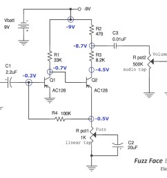 fuzz box 1 circuit schematic diagram wiring diagram filter box wiring diagram schematic [ 2000 x 1424 Pixel ]