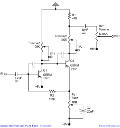 fuzz face schematic pnp wiring diagram show electrosmash you can build the perfect germanium fuzz face [ 3473 x 3556 Pixel ]