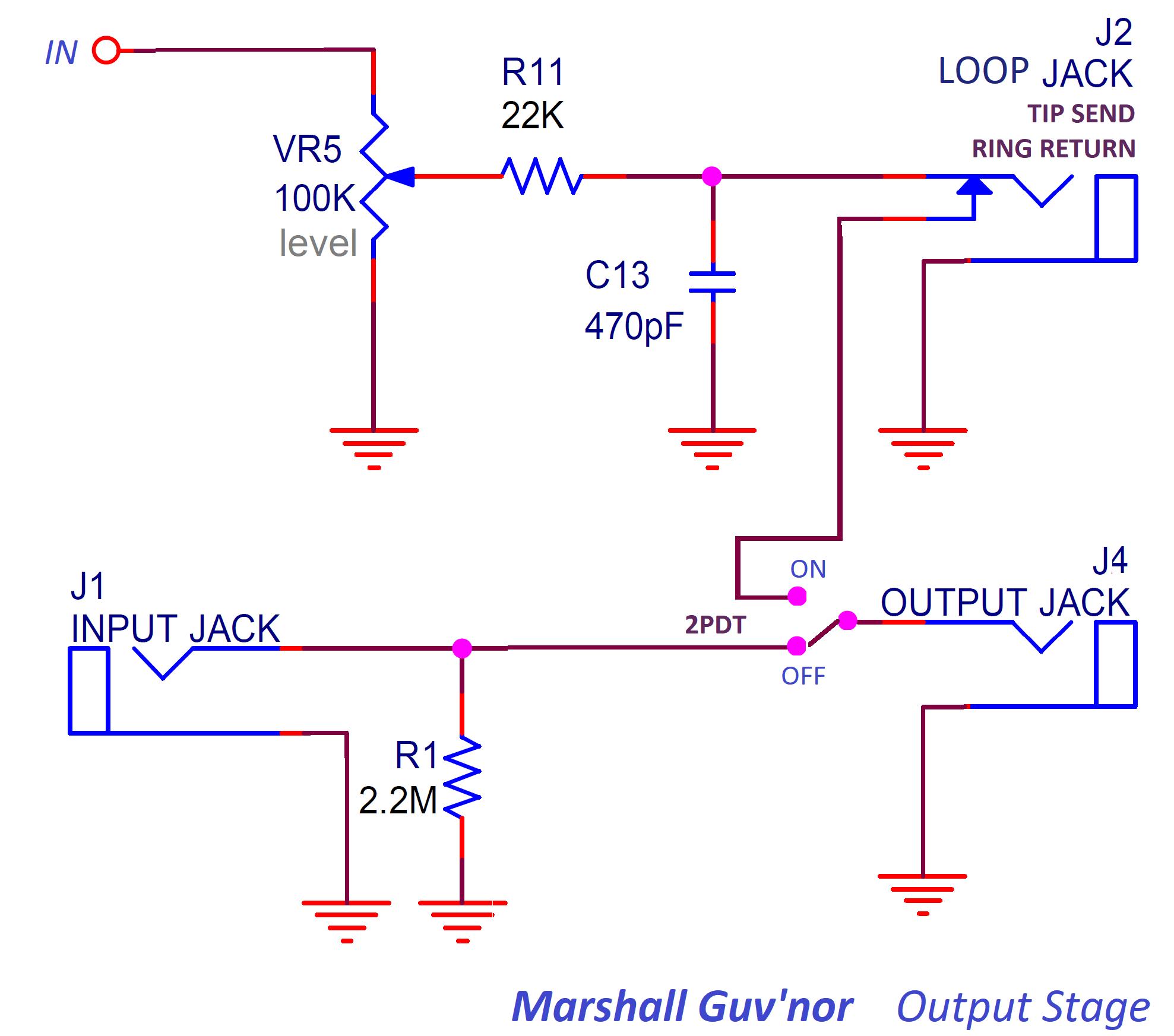 hight resolution of marshall guvnor output stage