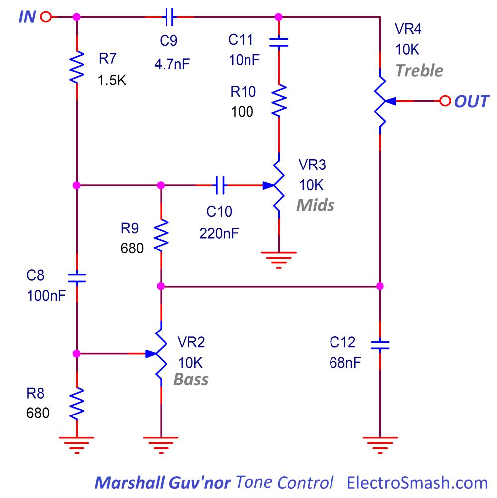 medium resolution of marshall guvnor tonestack