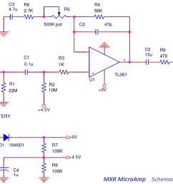 mxr micro amp wiring diagram wiring diagram expert mxr preamp wiring diagram [ 2264 x 1377 Pixel ]