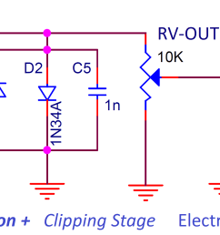 mxr distortion clippling stage [ 1997 x 1057 Pixel ]