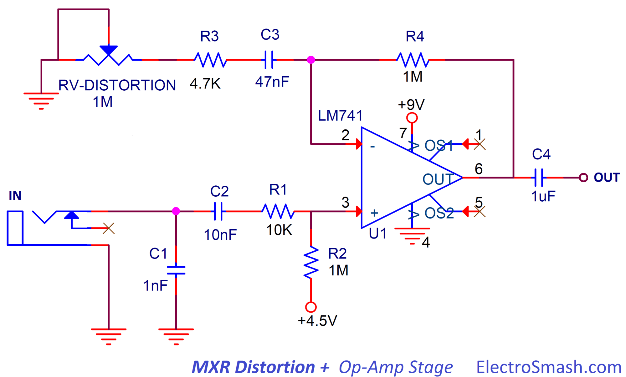 hight resolution of 1 2 op amp amplifier stage