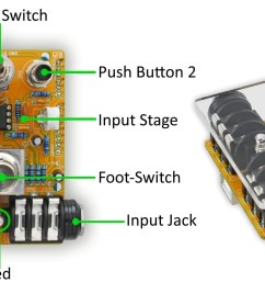 pedalshield uno arduino guitar pedal  [ 1920 x 785 Pixel ]