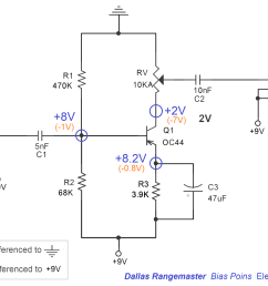 electrosmash dallas rangemaster treble booster circuit analysis treble booster schematic is a lovely treble booster [ 2000 x 1433 Pixel ]