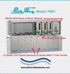 catalog 307007 model 7007 rj45 cat5 a b switch module [ 1000 x 1000 Pixel ]