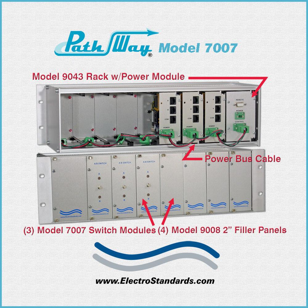 medium resolution of catalog 307007 model 7007 rj45 cat5 a b switch module