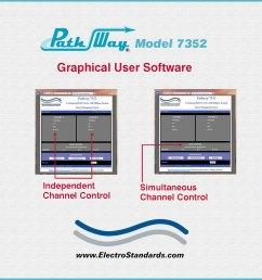 catalog 307352 model 7352 2 channel rj45 cat5e a b offline switch [ 1000 x 1000 Pixel ]