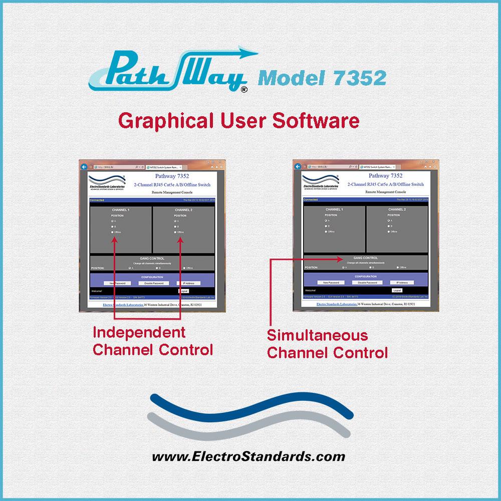 hight resolution of catalog 307352 model 7352 2 channel rj45 cat5e a b offline switch