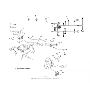 Kit Surepower ECM Polaris ATP 330 2203129 4011084
