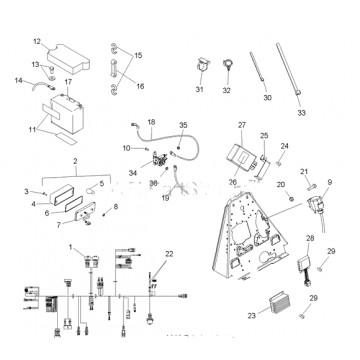 Module Controller Fan Polaris 500 Scrambler 4011700