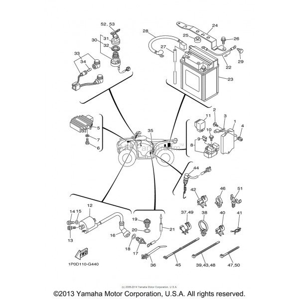 Yamaha Bear Tracker Neutral Safety Switch Wiring Diagrams