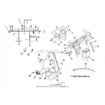 Kit Surepower ECM-Polaris-Sportsman 400-450-500-Scrambler 500