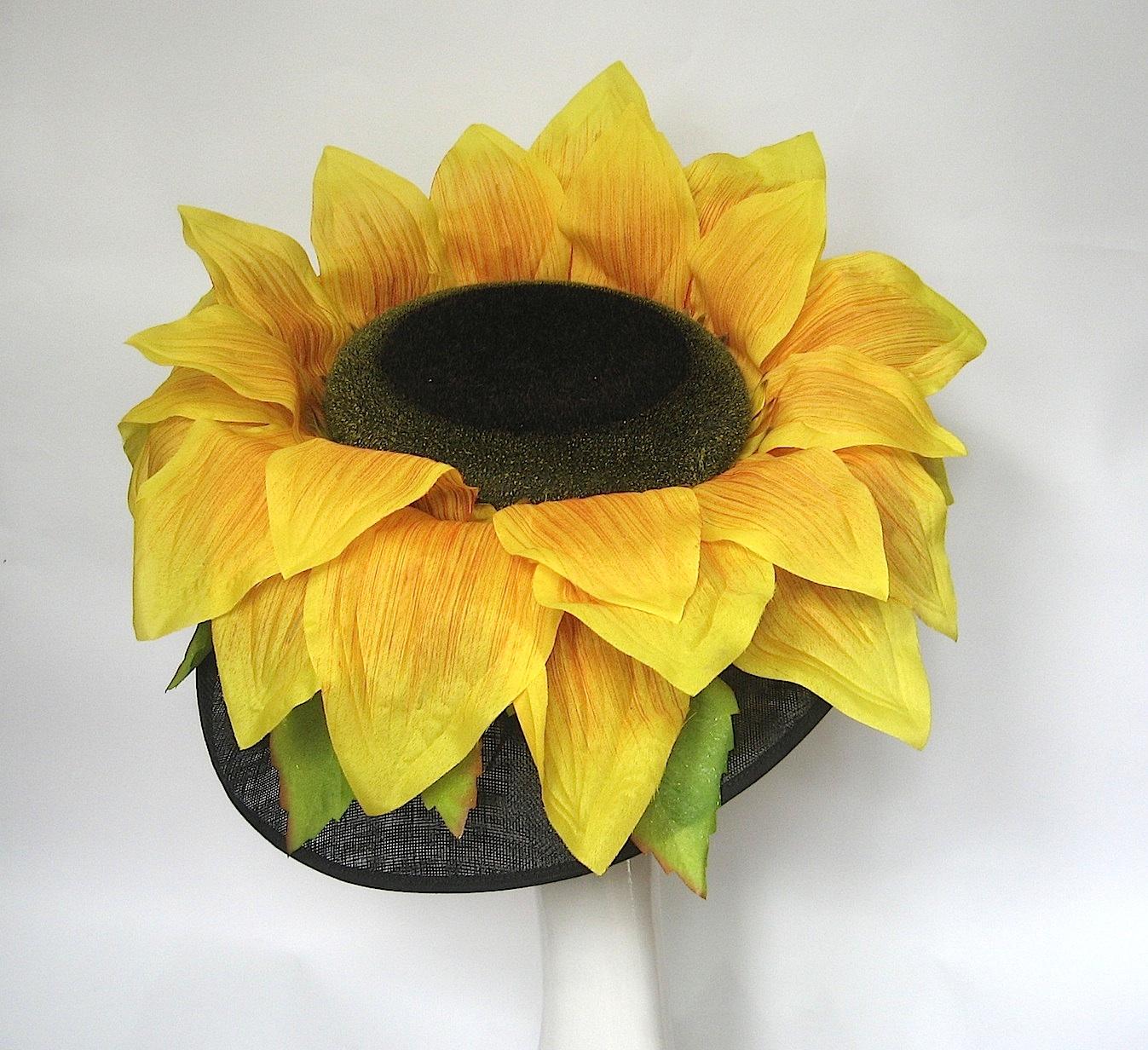 Giant Sunflower Hat Races Hats Wedding Hat Womens