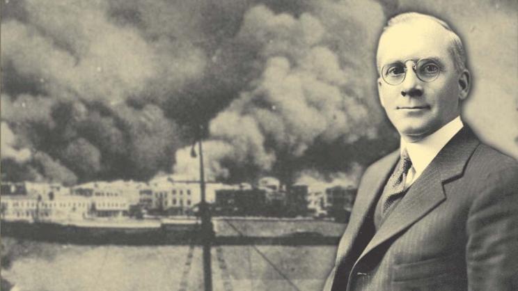 Ο δήμος Βόλου τιμά τον Asa k. Jennings