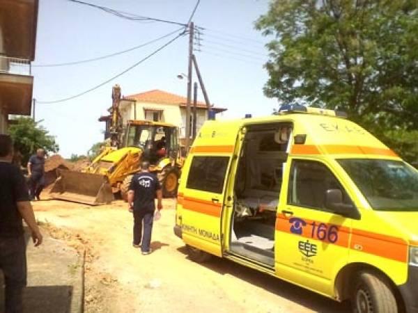Οι εργαζόμενοι της ΔΕΥΑΚ για το εργατικό δυστύχημα στο Κοπανάκι