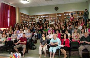 Ευρωπαίοι μαθητές και καθηγητές στην Κυπαρισσία στο πλαίσιο του προγράμματος