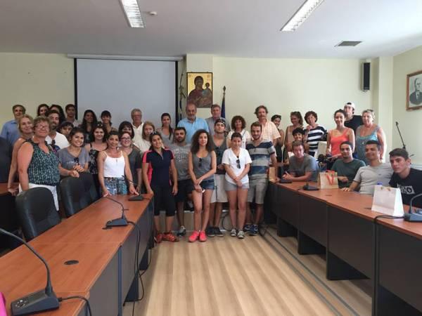Ομογενείς φοιτητές στο Δήμο Τριφυλίας
