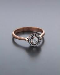 Δαχτυλίδι ασημένιο 925 με Ζιργκόν