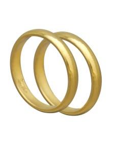 Βέρα χειροποίητη K14 χρυσή XV00464