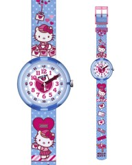 Ρολόι FLIK FLAK Hello Kitty Cute Mail ZFLNP024