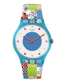 Ρολόι SWATCH Quilted Time SUOS108