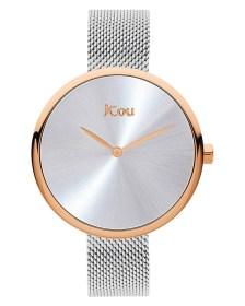 Ρολόι JCOU Luna Silver JU17115-7