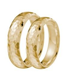Βέρα γάμου χρυσή Κ9 XV66286
