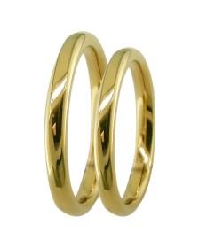 Βέρα γάμου χρυσή Κ9 XV66288