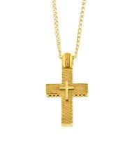 Σταυρός χρυσός Κ9