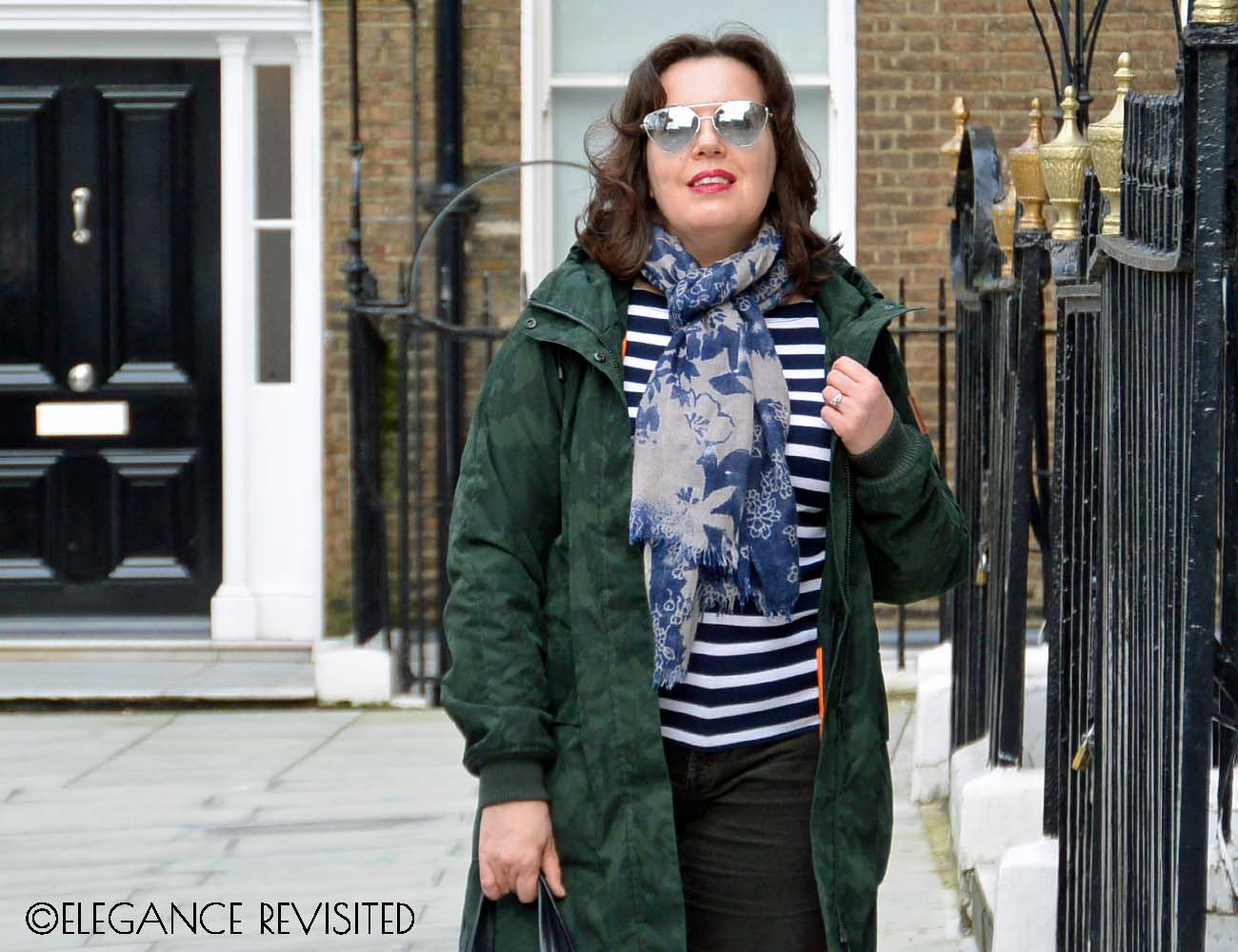 how to wear a parka over 40