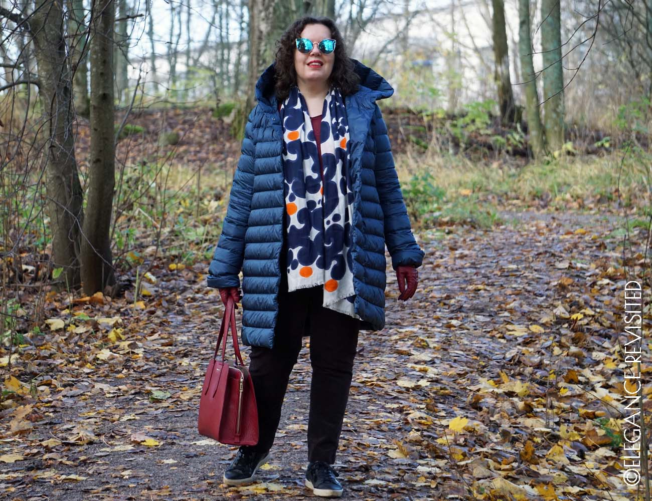 casual chic down jacket