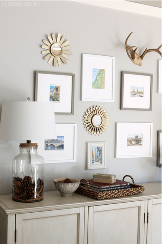 25 Inspiring Gallery Wall Ideas