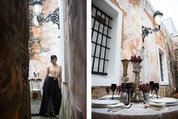Spanish Colonial Wedding Style