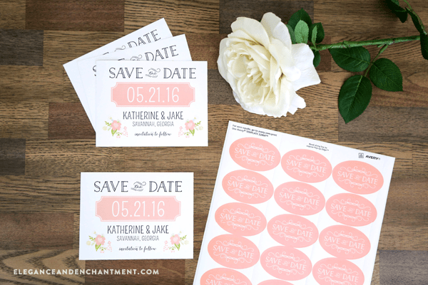 Save The Date Wedding Invitations Free – Free Printable Wedding Save the Date Templates