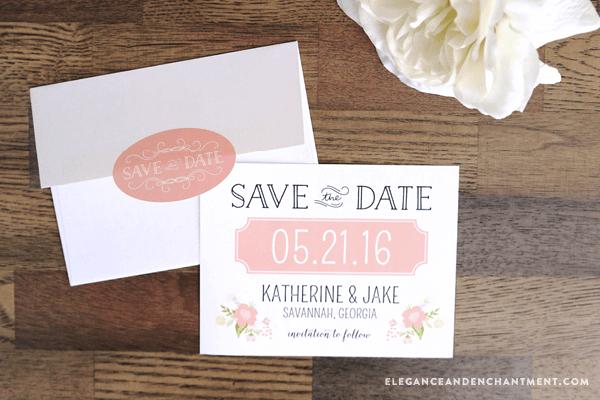 Get Your Wedding Budget Off To A Good Start By Ing These Free Customizable Save The