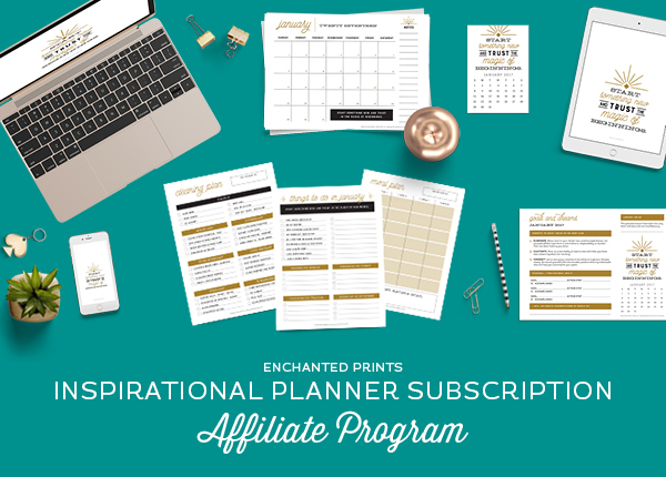 inspirational planner subscription affiliate