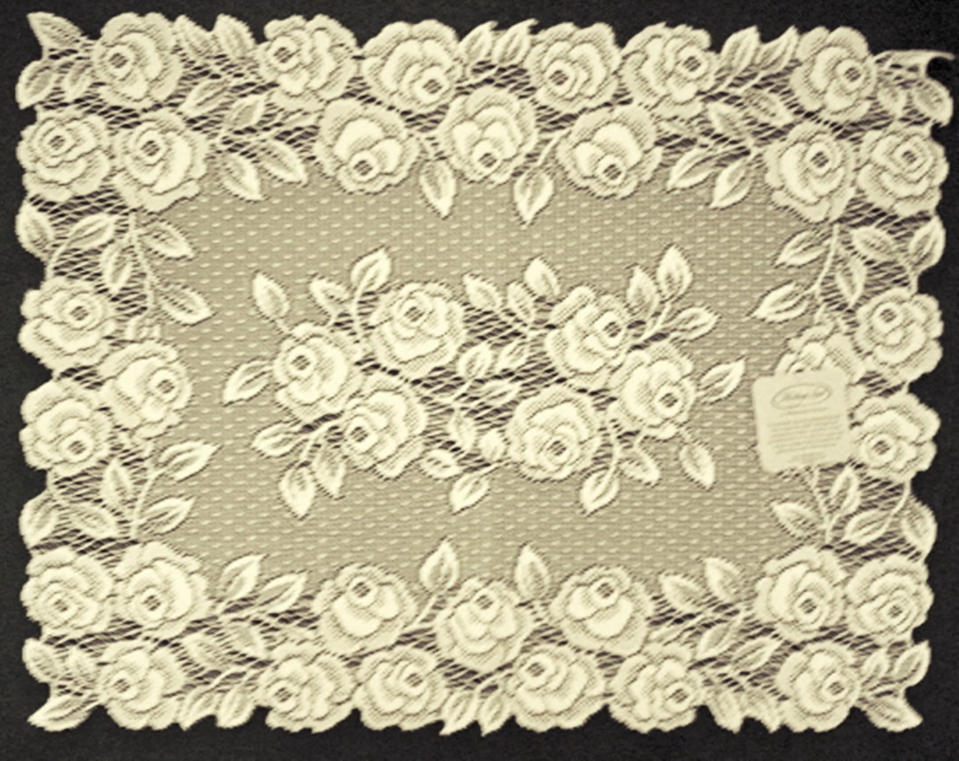 placemat tea rose 14x20