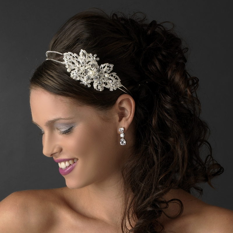Marvelous Pearl  Crystal Headpiece  Elegant Bridal Hair Accessories
