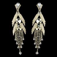 Marquise Bridal Chandelier Earrings - Elegant Bridal Hair ...