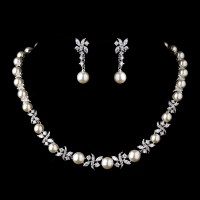 Pearl Wedding Jewelry Sets