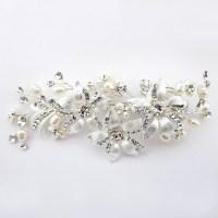 wedding hair clip pearl wedding hair clip pearl silvestre